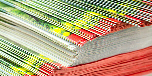 Catalogs fanned out